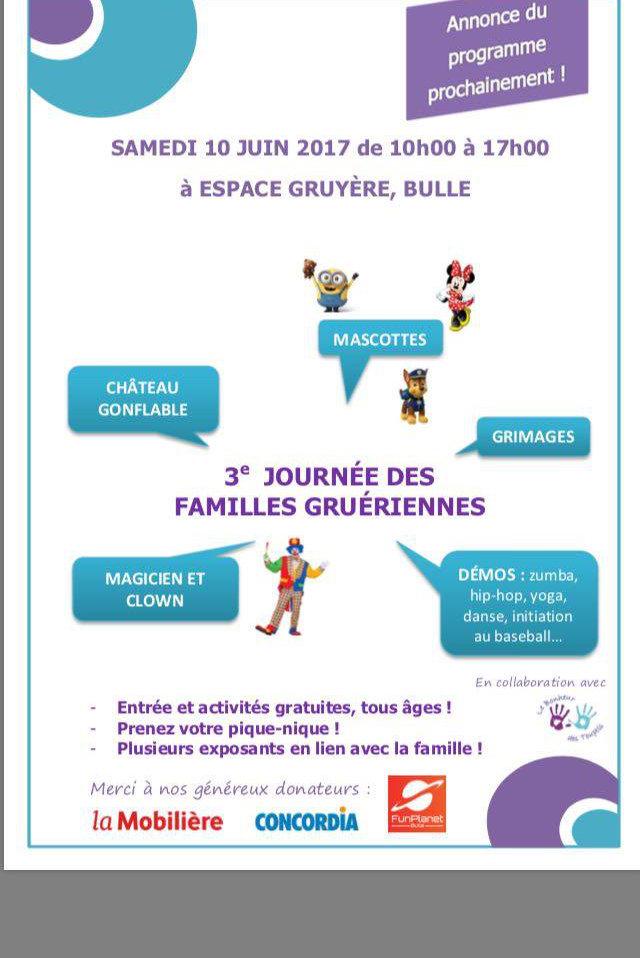 Journée des familles Gruériennes 10.06.2017